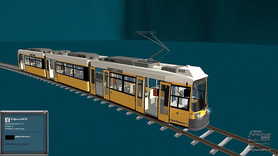 !-INFO na Facebook-!/(-: JIDINÝ TRAINZ KATALOG NA SVĚTĚ ...: http://trainz-katalog.9e.cz/TRAMVAJE/KLOUBOV%C3%89/jednosm%C4%9Brn%C3%A9/slides/GT6NBERLIN%201.html